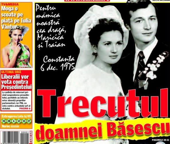 Maria Basescu Trecut