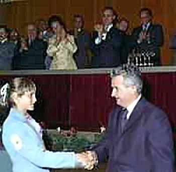 Nicolae Ceausescu NadiaComanecii
