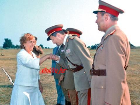 Elena Ceausescu Victor Stanculescu