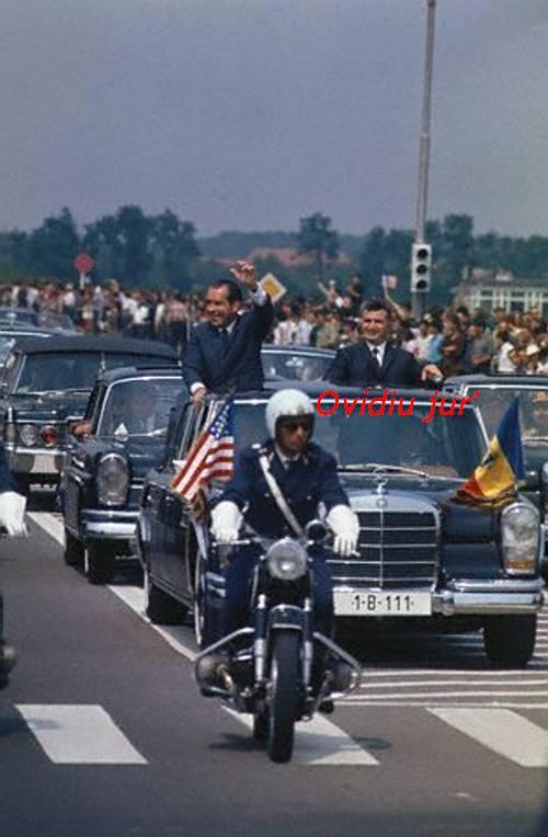 Nicolae Ceausecu Richard Nixon