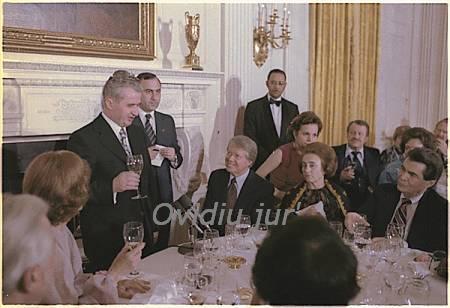 Nicolae Ceausescu vizita in SUA aprilie 12-17, 1978
