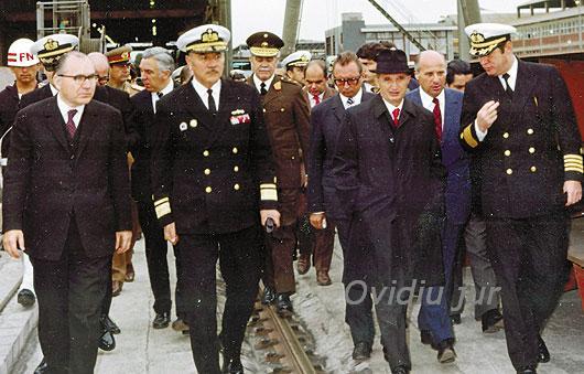 Nicolae Ceausescu vizita de lucru
