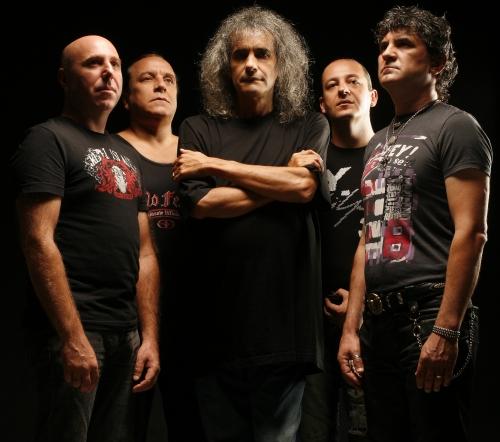 Valter Popa, Nelu Dumitrescu, Cristi Minculescu, Relu Marin şi 'Boro' sunt supranumiţi Naţionala de Rock a României