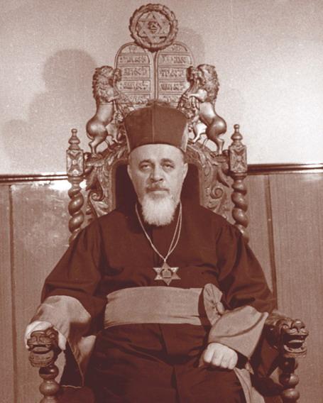 Moses David Rosen (n. 23 iulie 1912, oraşul Moineşti, judeţul Bacău - d. 6 mai 1994, Bucureşti) a fost şef-rabin al Cultului Mozaic din România (1948-1994) şi preşedinte al Federaţiei Comunităţilor Evreieşti din România între 1964-1994.