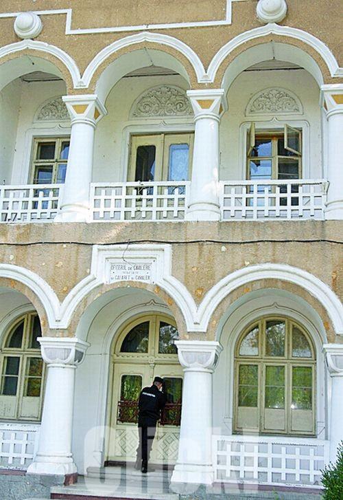 Cladirea unde au fost judecati sotii Ceausescu