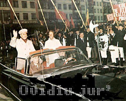 Sotii Ceausescu Buick
