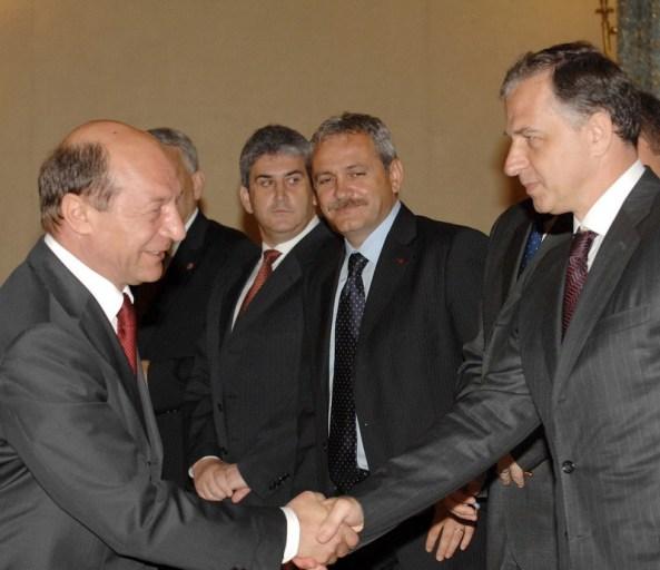 Traian Basescu Mircea Geaoana