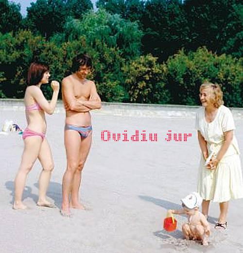 Iordana Borila Valentin Daniel Ceausescu Elena la Neptun in 1982