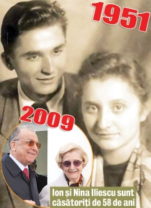 Ion Iliescu impreuna cu Nina