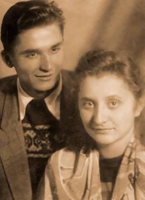 Ion Iliescu cu Nina