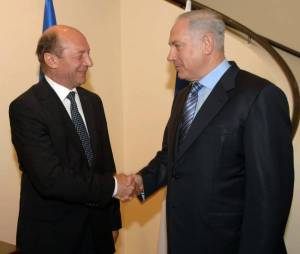 Traian Basescu Benjamin Netanyahu