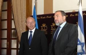Traian Basescu Avidor Liberman