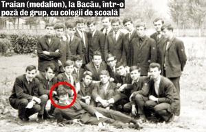 Traian Basescu Elev