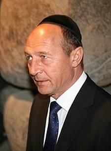Traian Basescu Israel