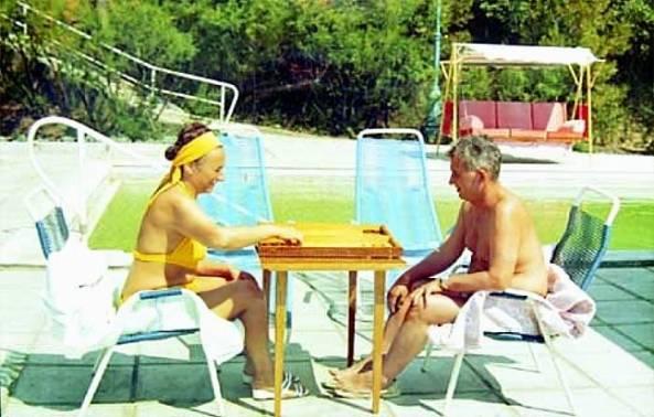 Ceausescu la vacanta Crimeea