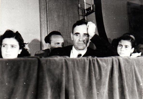 DEJ LICA GHEORGHIU TANTA GHEORGHIU 1 MAI 1945